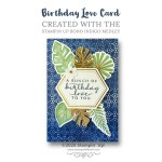 CARD: Such Happy News Card from the Boho Indigo Product Medley Kit