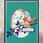 CARD: Hello from the Forever Fern & Birds and Branches Stamps