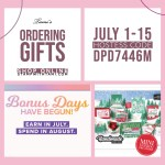 SPECIALS: Tami's Ordering Gift Tutorials for July 1-15 – Hostess Code DPD7446M