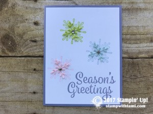 Stampin Up Snowflake Sentiments Bundle