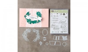 Lovely Friends stamps and die set