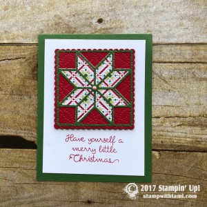 Quilted Christmas Suite
