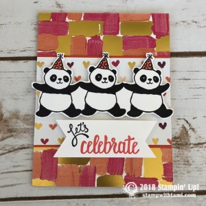 Party Pandas Stamp Set