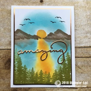 Stampin Up Waterfront Stamp Set