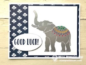 Lucky Elephant Stamp