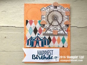 Carousel Birthday Stamps