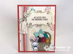 Stampin Up Basket Bunch Stamp set
