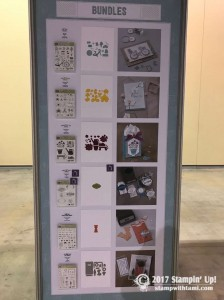 stampin up on stage new catalog display boards24