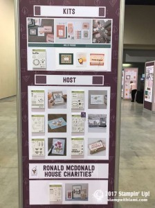 stampin up on stage new catalog display boards26