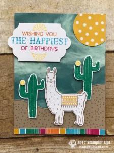 stampin up stampin Stampin Up Birthday Fiesta Stamp set