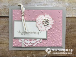 stampin up stampin Stampin Up So In Love Stamp set