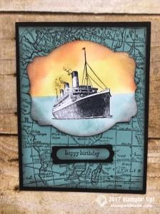 Stampin Up Traveler Stamp set