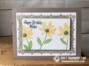 Stampin Up Sale-a-bration stamp set
