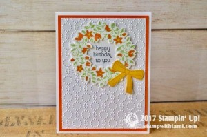 Stampin Up Circle of Srping Stamp set
