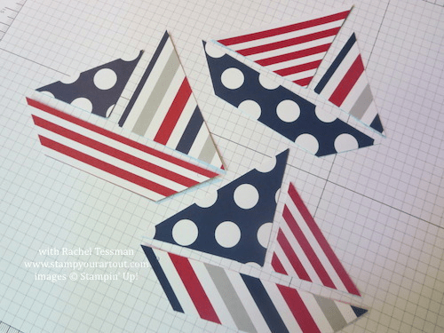 June 2014 My Paper Pumpkin: 12x12 Sailboat Pages & How to Create the Cute Sailboat… Stampin' Up!® - Stamp Your Art Out! www.stampyourartout.com
