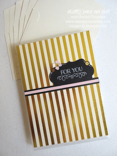 Box of 6 cards made with the August 2015 Chalk It Up To Love Paper Pumpkin kit…#stampyourartout #stampinup - Stampin' Up!® - Stamp Your Art Out! www.stampyourartout.com