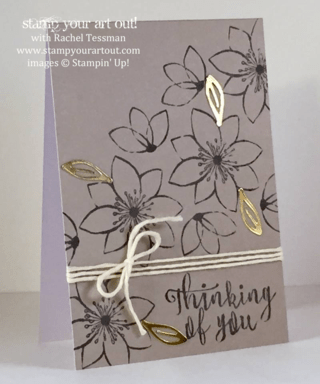 Sneak Peek at the October 2015 Blissful Bouquet Paper Pumpkin kit exclusive alternate projects… #stampyourartout #stampinup - Stampin' Up!® - Stamp Your Art Out! www.stampyourartout.com