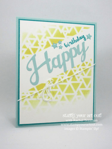 The May 2016 Paper Pumpkin kit, Many Manly Occasions alternate project idea!… #stampyourartout #stampinup - Stampin' Up!® - Stamp Your Art Out! www.stampyourartout.com