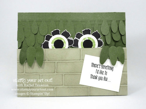 Monster card made with the April 2016 Lovely Little Wreath Paper Pumpkin kit …#stampyourartout #stampinup - Stampin' Up!® - Stamp Your Art Out! www.stampyourartout.com