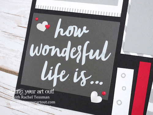 Click here to see a ton of projects (4 cards, 2 candy boxes, a couple 12x12 scrapbook page double-page layouts & a double-sided Project Life layout) created with the December 2016 Another Great Year Paper Pumpkin kit … #stampyourartout - Stampin' Up!® - Stamp Your Art Out! www.stampyourartout.com