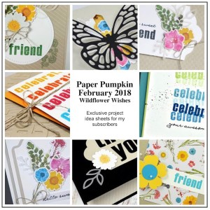 Sneak Peek at the February 2018 Wildflower Wishes Paper Pumpkin Kit exclusive alternate projects ...#stampyourartout #stampinup - Stampin' Up!® - Stamp Your Art Out! www.stampyourartout.com