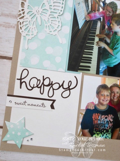 Click here to see a few of my scrapbook pages that I made on my February 2018 crafting retreat using current and past Stampin' Up! products…#stampyourartout #stampinup - Stampin' Up!® - Stamp Your Art Out! www.stampyourartout.com