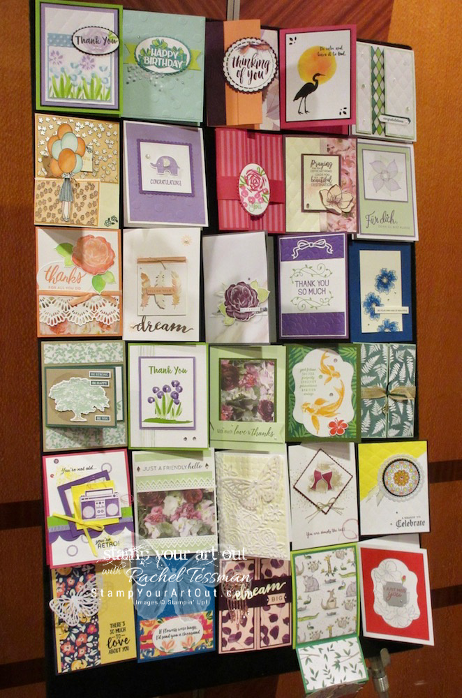 Highlights (and photos from the sample boards – swaps and projects showing off the new 2018 Holiday catalog products!) from my Seattle/Stampin' Up! 2018 Alaskan Cruise incentive trip …#stampyourartout #stampinup - Stampin' Up!® - Stamp Your Art Out! www.stampyourartout.com