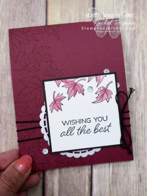 Click here for more information on how to make three pretty monochromatic greeting cards with the limited-time Blended Seasons stamp set, new ink pads from 2018-19 Annual Catalog, and a Blender Pen (which acts as a marker with any Classic ink pad)…#stampyourartout #stampinup - Stampin' Up!® - Stamp Your Art Out! www.stampyourartout.com