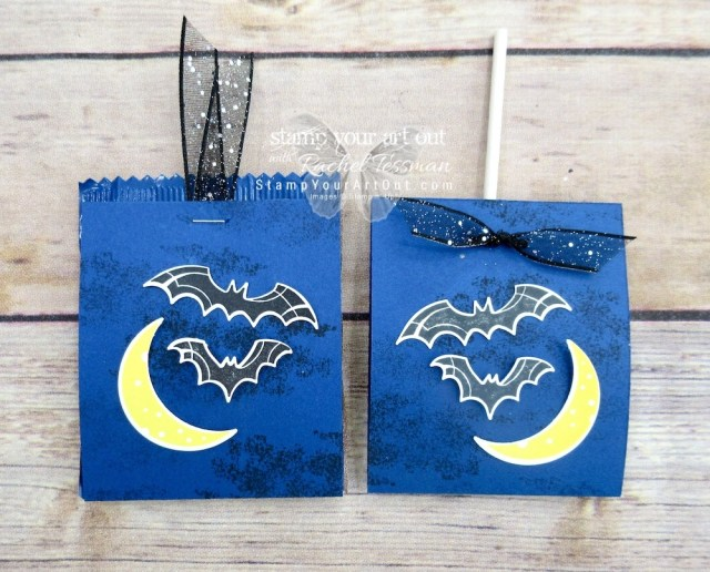 """Click here for more information & to watch my quick video to see how to make several adorable Halloween treats (including """"punch art"""" pops) using new products that just debuted in the 2018 Holiday Catalog!…#stampyourartout #stampinup - Stampin' Up!® - Stamp Your Art Out! www.stampyourartout.com"""