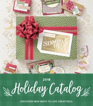 The 2018 Holiday Catalog …#stampyourartout #stampinup - Stampin' Up!® - Stamp Your Art Out! www.stampyourartout.com