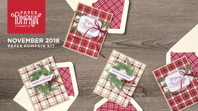 The November 2018 To You And Yours Paper Pumpkin Kit!…#stampyourartout #stampinup - Stampin' Up!® - Stamp Your Art Out! www.stampyourartout.com