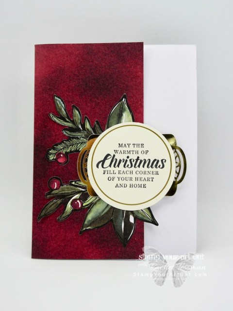 """I doubled the cards in the Timeless Tidings holiday card kit by adding only 13 sheets of neutral 8-1/2"""" x 11"""" and 20 medium Whisper White envelopes. You can find measurements, a complete list of supplies, and a link to a how-to video that includes directions for how to change up the 4 kit card designs (5 of each to make 20) to 8 altered designs (5 of each to make 40)...#stampyourartout #stampinup - Stampin' Up!® - Stamp Your Art Out! www.stampyourartout.com"""