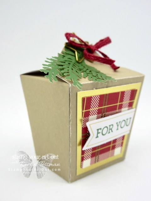 Takeout Treat Box created with the November 2018 To You And Yours Paper Pumpkin Kit! …#stampyourartout #stampinup - Stampin' Up!® - Stamp Your Art Out! www.stampyourartout.com