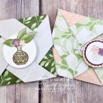 Check out these mini pinwheel cards/pouches that I made with the Vibrant Vases stamp set AND many products from the Floral Romance Suite! Click here to see more photos, find a link to my how-to video, get measurements, and be connected with the products I used to create them. #stampyourartout #stampinup - Stampin' Up!® - Stamp Your Art Out! www.stampyourartout.com