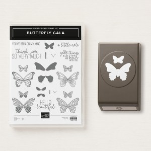 The awesome Butterfly Duet Punch & coordinating Butterfly Gala Stamp Set! #stampyourartout #stampinup - Stampin' Up!® - Stamp Your Art Out! www.stampyourartout.com