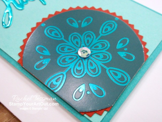 The Noble Peacock Foil and Specialty Designer Paper are stunning new products that you have get your hands on. I used these papers along with the Word Wishes Dies and A Wish For Everything Stamp Set to make these sweet little birthday note cards. Click here to get directions, measurements and a list of supplies I used linked to my online store. #stampyourartout #stampinup - Stampin' Up!® - Stamp Your Art Out! www.stampyourartout.com