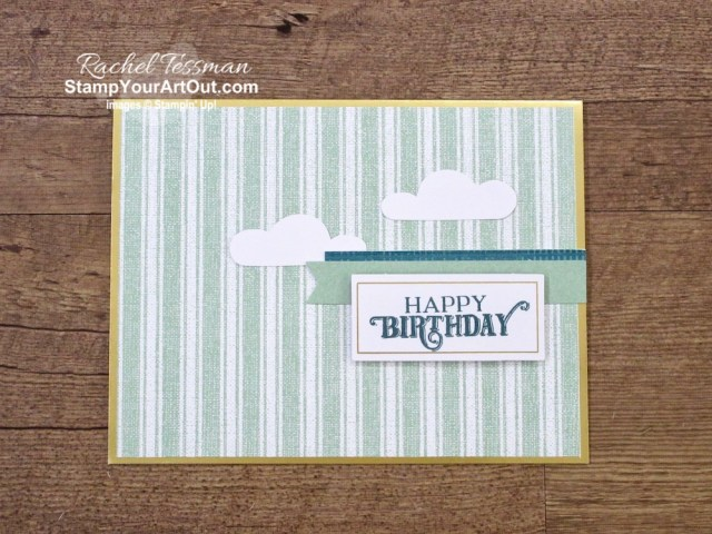 "Click here to see & get details about how to triple the cards in the July 2019 On My Mind Paper Pumpkin Kit. Plus you can see several other alternate project ideas created with this kit in our blog hop: ""A Paper Pumpkin Thing""! #onestopbox #stampyourartout #stampinup - Stampin' Up!® - Stamp Your Art Out! www.stampyourartout.com"