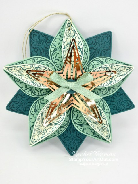 I really love the products in the Brightly Gleaming Suite in the 2019 Holiday Catalog! So I went a little crazy. Click here to view three projects (a copper tin box, an ornament and a craft supply/jewelry drawer unit), and then visit my Saturday, September 21st post for the recorded Facebook Live Online Class where I teach how to make these and a few others. - Stampin' Up!® - Stamp Your Art Out! www.stampyourartout.com