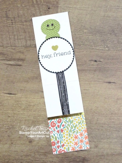 I created an adorable bookworm bookmark and holder with the December 2019 Something for Everything Paper Pumpkin kit. I designed it to send to a few of my Paper Pumpkin subscribers. I also created another pyramid card from this kit. Click here for more photos, directions, measurements and supplies. - Stampin' Up!® - Stamp Your Art Out! www.stampyourartout.com
