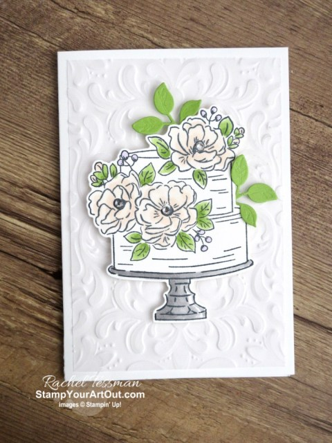 Click here to see how to make a Bend Open Pocket Card with the Happy Birthday to You Stamp Set, Birthday Dies, Parisian Flourish Embossing Folder, Perennial Essence Vellum, Blends Markers, and a few rhinestones. You'll also be able to access measurements and a link to a how-to video, see other close-up photos, and get links to all the products I used.  - Stampin' Up!® - Stamp Your Art Out! www.stampyourartout.com