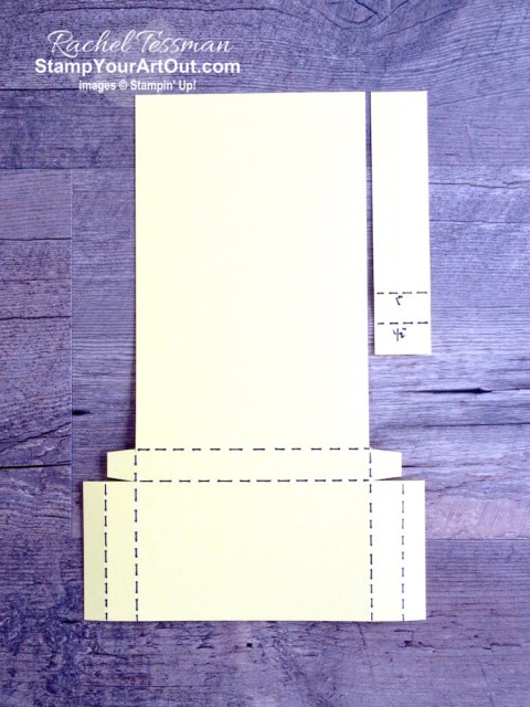 """Click here to see how to make an easy vertical, easel-style sticky note pad and pen holder using one sheet of 8-1/2"""" x 11"""" cardstock, strong adhesive, Peaceful Poppies Designer Paper, and images from the Music From the Heart Stamp Set. You'll also be able to access measurements and a link to a how-to video, see other close-up photos, and get links to all the products I used. - Stampin' Up!® - Stamp Your Art Out! www.stampyourartout.com"""