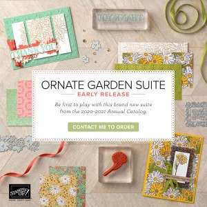 Ornate Garden Suite Stampin' Up!® - Stamp Your Art Out! www.stampyourartout.com