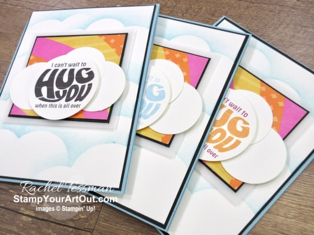 I created this fun puffy cloud card that I gifted to a few of my lucky subscribers using the May 2020 A Kit In Color Paper Pumpkin Kit. Click here for more photos, measurements, a supply list and directions. - Stampin' Up!® - Stamp Your Art Out! www.stampyourartout.com