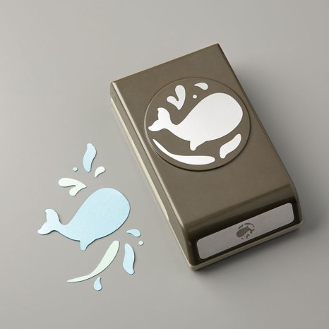 Whale Builder Punch! - Stampin' Up!® - Stamp Your Art Out! www.stampyourartout.com