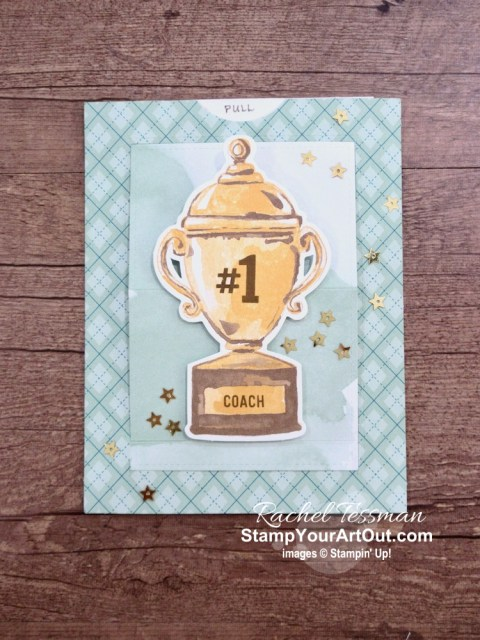 I'm excited to share with you what I created with the August 2020 World's Greatest Paper Pumpkin Kit – four alternate full-size cards, a slider winder card, a pop-open cube card, and a 12x12 scrapbook page. Click here for photos of all these projects, a video with directions, measurements and tips for making them, and a complete product list linked to my online store! - Stampin' Up!® - Stamp Your Art Out! www.stampyourartout.com