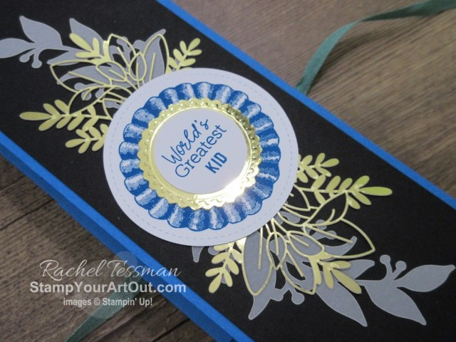 "Click here to see & get details for how to make a 12x9 Accordion Display Gift Album from your August 2020 ""World's Greatest"" Paper Pumpkin kit and some extra product. Plus you can see several other alternate project ideas created with this kit by fellow Stampin' Up! demonstrators in our blog hop: ""A Paper Pumpkin Thing""!  - Stampin' Up!® - Stamp Your Art Out! www.stampyourartout.com"