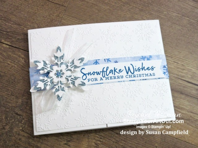 Three fun fold cards created with the Snowflake Splendor Suite of products from Stampin' Up!'s Aug-Dec 2020 Mini Catalog. - Stampin' Up!® - Stamp Your Art Out! www.stampyourartout.com