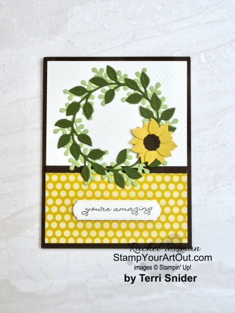I have more beautiful projects, gifts and cards. And I'm very excited to share them with you. Click here to see all eleven creations that feature Aug-Dec 2020 Mini Catalog and 2020-21 Annual Catalog products. - Stampin' Up!® - Stamp Your Art Out! www.stampyourartout.com