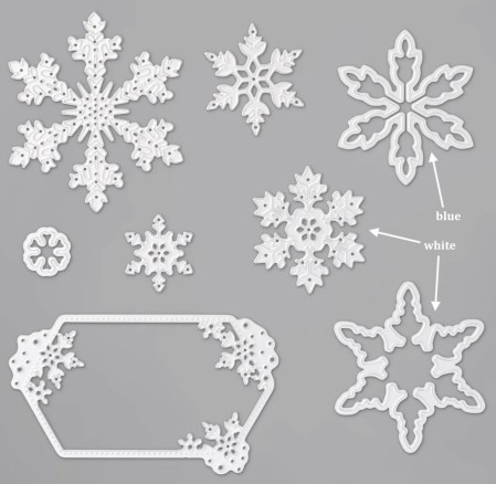 So Many Snowflakes Dies - Stampin' Up!® - Stamp Your Art Out! www.stampyourartout.com