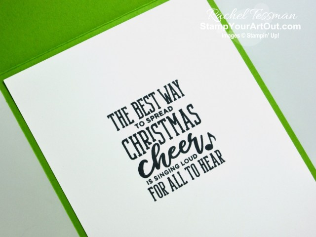 Celebrate quotes from a few Christmas movie favorites! Click here to see three different cards that I made with the Christmas Means More Stamp Set, Stampin' Blends Markers, Feels Like Frost Designer Paper, Foil Sheets, and the Pine Tree Punch. You'll also be able to access measurements, directions, a link to the how-to video, other close-up photos, and links to the products I used. - Stampin' Up!® - Stamp Your Art Out! www.stampyourartout.com